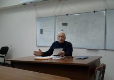 Открытая лекция Б. Ф. Егорова